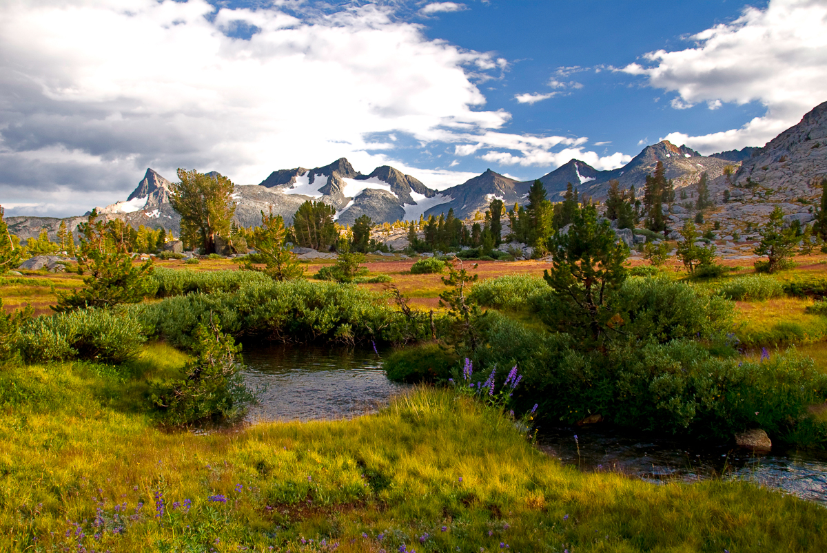 16 Rush Creek and Ritter Range After Monsoon Ansel Adams Wilderness.jpg